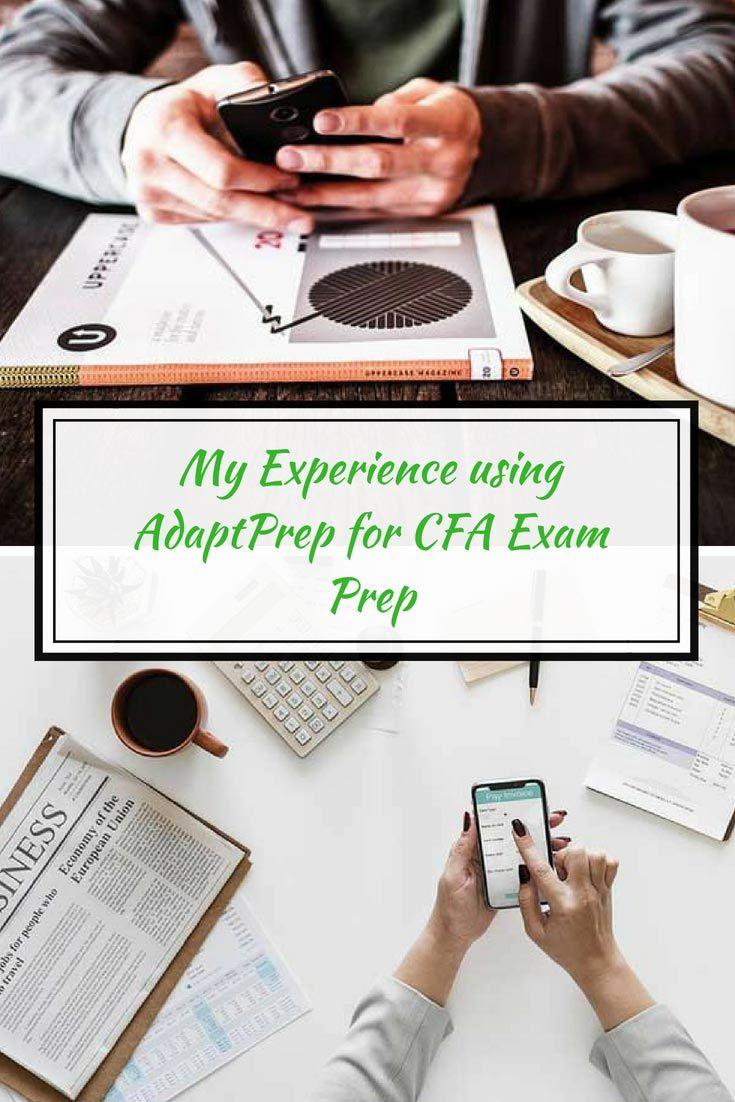 Detailed review of the AdaptPrep CFA prep course.  Will it help you pass the test? #CFA #cfaexam #finance #personalfinance #careeradvice