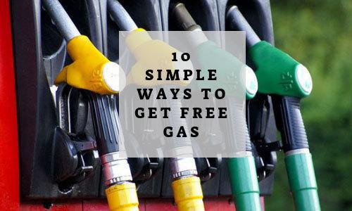 Top ten list of ways to get free gas