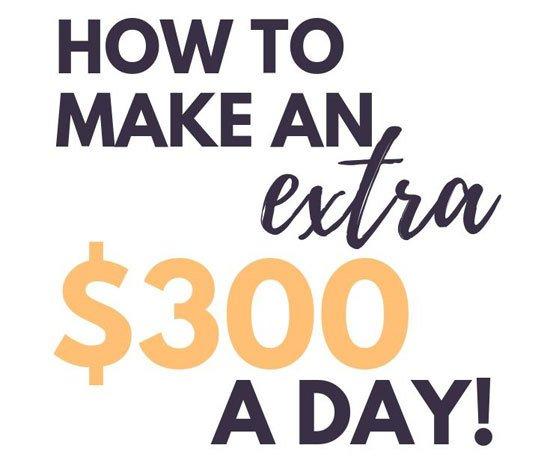 earning $300