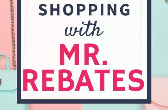 shop with mr rebates