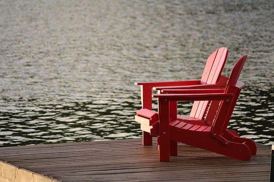overlooking water during retirement